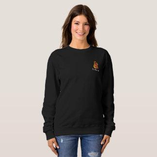 Womens Black Sweatshirt