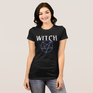Women's Black Witch Tshirt