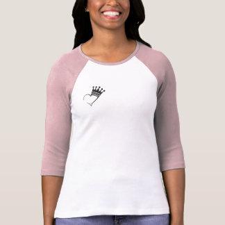 Women's blouse with king heart design T-Shirt