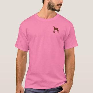 Women's Brown Calf Tshirt
