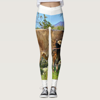 "Women's ""Brown Cow"" Leggings"