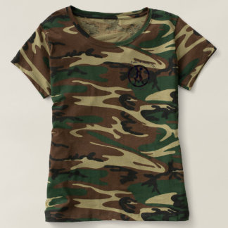 Women's Camo TShirt with Country Take N Bake Pizza