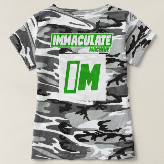 Women's Camouflage T-Shirt - IMMACULATE MACHINE