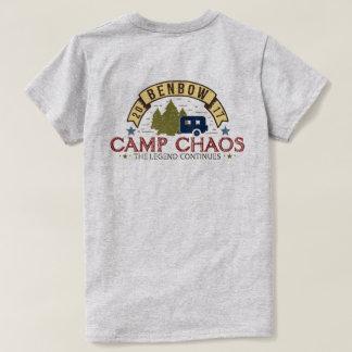 Womens Camp Chaos 2017 Basic Tee