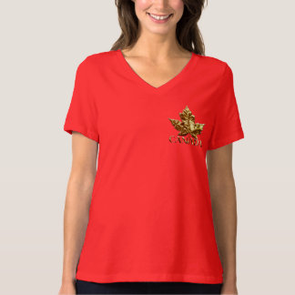 Women's Canada Souvenir Plus Size Gold Medal Shirt