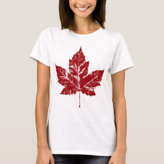 Women's Canada T-Shirt Canada Maple Leaf Shirt
