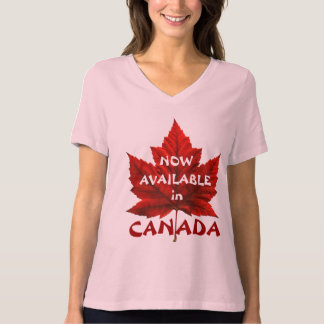Womens Canada T-Shirt Funny Canada Ringer T-shirt