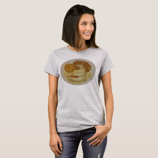 Women's Chick Enchiladas with Refried Beans & Rice T-Shirt