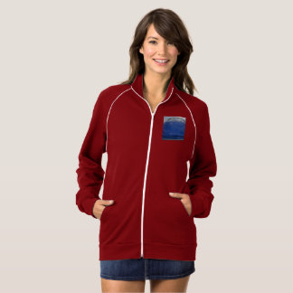 Women's classic car trunk track jacket