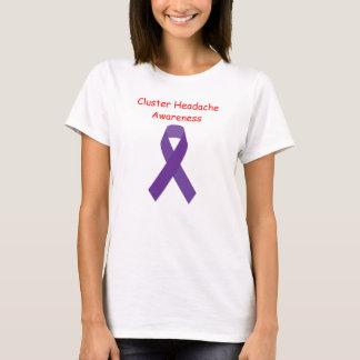 Womens Cluster Headache Awareness T-Shirt