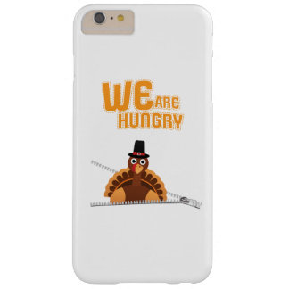 Womens Cute Thanksgiving Maternity We Are Hungry Barely There iPhone 6 Plus Case
