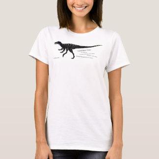 Women's Dark Lightning Claw Dinosaur Shirt