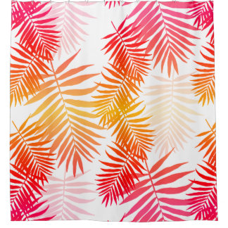 Women's Decor Palm Tree Leaf In Sunset Colors