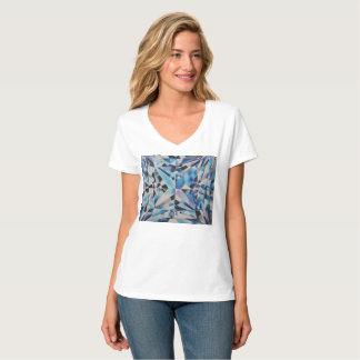 Women's Diamond Hanes Nano V-Neck T-Shirt