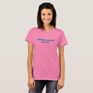 """Women's  """"Digital Natve"""" T-shirt"""