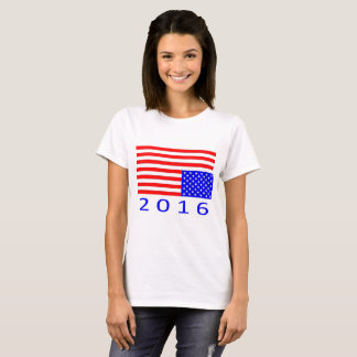 Women's Distressed American T-shirt