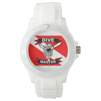 Women's Dive Master with Flag Wristwatch