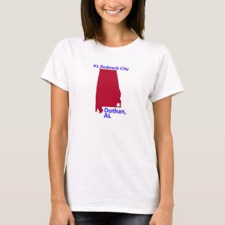 Women's Dothan, #1 Redneck City in Alabama T Shirt