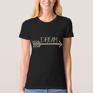 Women's Dream Arrow Organic Fitted T-Shirt