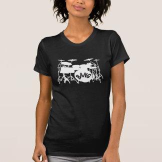 Womens Drum Set T-Shirt