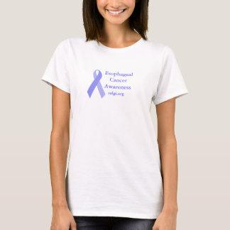 Women's esophageal cancer awareness t-shirt