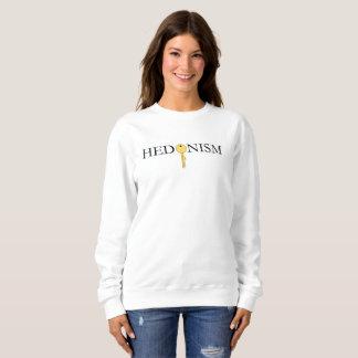 Women's Essential Sweatshirt with Hedonism Print