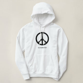 Women's Faith, Hope, and Love Hoodie - (White)