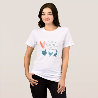 Womens Farm logo t shirt