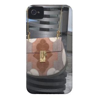 Women's fashion purse wallet leather accessory fun iPhone 4 case