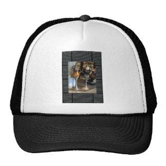 Women's Fashion Showroom Window Hand Bags shopping Trucker Hat
