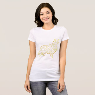 Women's Favorite Jersey T-Shirt Golden retriever