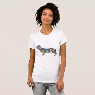 Women's  Fine Jersey T-Shirt Dachshund