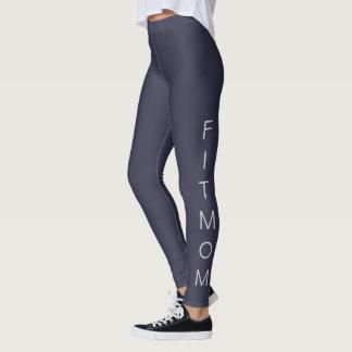 """Women's """"FITMOM"""" Casual/Sport/Fitness Leggings"""