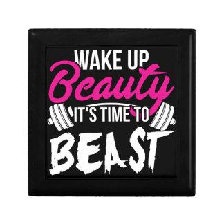 Women's Fitness - Wake Up Beauty, Time To Beast Gift Box