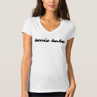 Women's Fitted V-neck Tee | Bevie Babe