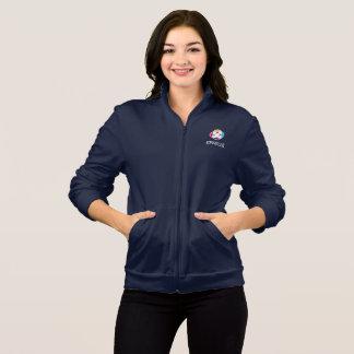 Women's Fleece Jacket in Navy