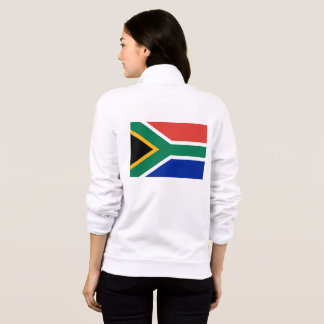 Women's  Fleece Jogger with flag of South Africa