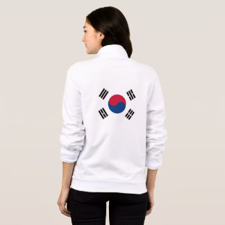 Women's  Fleece Jogger with flag of South Korea
