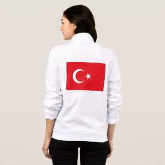 Women's  Fleece Jogger with flag of Turkey