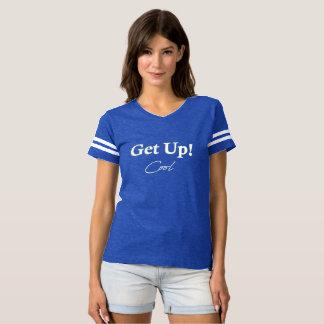 Women's Football Shirt Get Up Cool