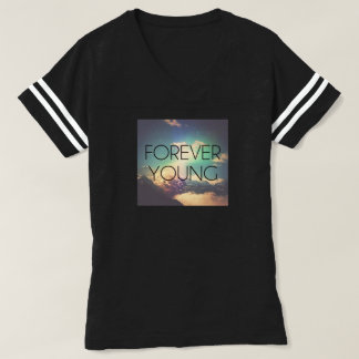"Womens ""Forever Young"" Graphic T-Shirt"