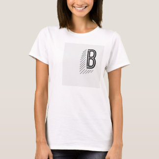 Women's Front and Back Basic Tee