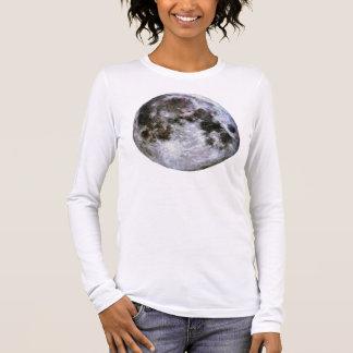 Women's Full Moon Long Sleeve T-Shirt