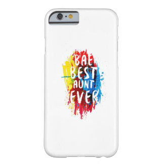 Womens Funny BAE  Best Auntie Ever Mom Mothers Barely There iPhone 6 Case