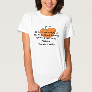 Womens funny pumpkin Tee