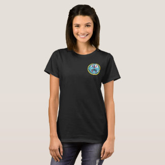 Womens GDA Patch Logo Shirt (Front Print Only)