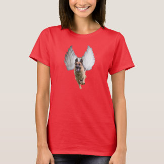 Women's German Shepherd Angel T-Shirt