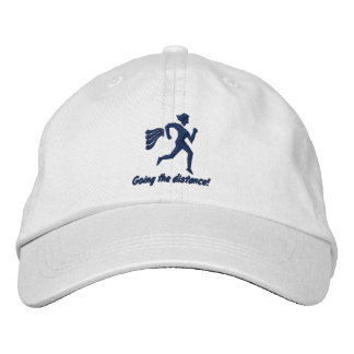 """Womens """"Going The Distance!"""" Embroidered Hat"""