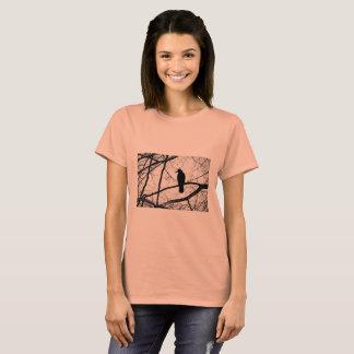 Women's Gothic Crow T Shirt