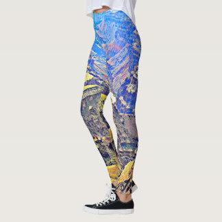 "Women's ""Grand Canyon"" in Pastel Leggings. Leggings"